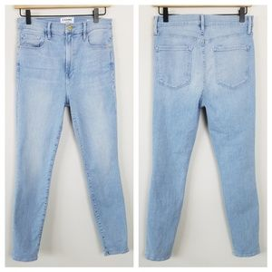 Frame Denim Ali High Rise Cigarette Jeans